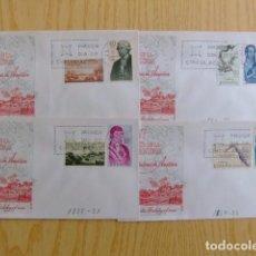 Sellos: ESPAÑA ESPAGNE 1967 FDC VIII SERIE CONQUERANTS DE AMÉRIQUE EDIFIL Nº 1819 / 26 YVERT 1478/85. Lote 75270367