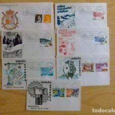 Sellos: ESPAÑA SPAIN ESPAGNE 1980 FDC AÑO COMPLETO SIN HOJAS BLOQUE 22 FDC - EDIFIL Nº 2558 /2598 VER FOTOS. Lote 75662531