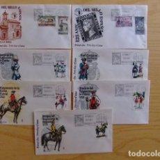 Sellos: ESPAÑA SPAIN 1975 FDC ENTRE LOS NUMEROS EDIFIL Nº 2232 Y 2301 38 FDC FALTA 1 SERIE PARA COMPLETO. Lote 75666547