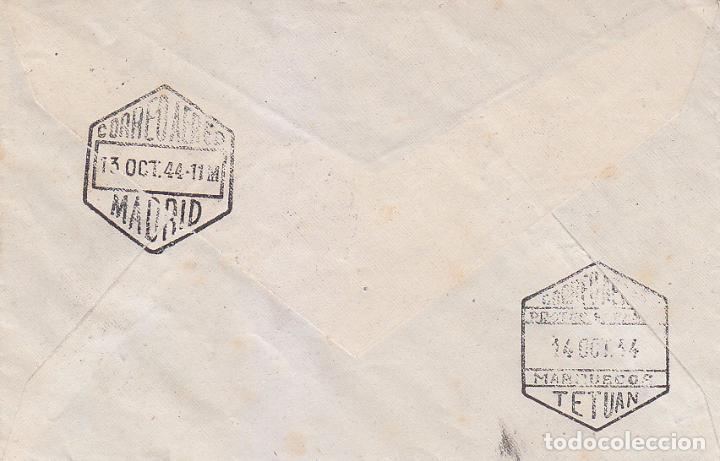 Sellos: RARO MATASELLOS NO CATALOGADO DIA DEL SELLO RENTERIA (GUIPUZCOA) 12 OCTUBRE 1944 SOBRE CIRCULADO MPM - Foto 2 - 76119143