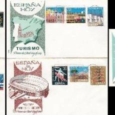 Sellos: EDIFIL 1576/89, 25 AÑOS DE PAZ, PRIMER DIA DE 1-4-1964 EN 5 SOBRES DE ALFIL. Lote 76127707