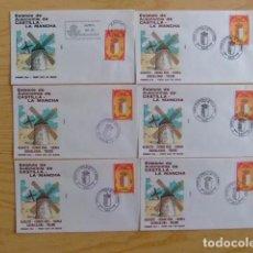 Sellos: ESPAÑA ESPAGNE 1984 FDC ESTATUTO DE AUTONOMIA DE CASTILLA LA MANCHA EDIFIL Nº 2738 YVERT 2371. Lote 76292947