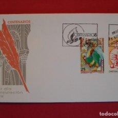 Sellos: SOBRE PRIMER DIA- CENTENARIOS - MATASELLO - MADRID 1991... R-5052. Lote 78835573