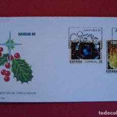 Sellos: SOBRE PRIMER DIA - NAVIDAD 90 - MATASELLO - MADRID 1990... R-5066. Lote 78839505