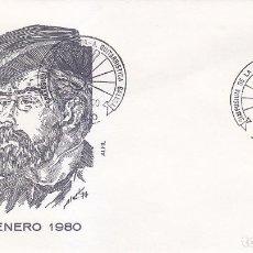 MUSICA GUITARRA SIMPOSIUM, VIGO (PONTEVEDRA) 1980. RARO MATASELLOS EN SOBRE ALFIL FRANCISCO TARREGA.