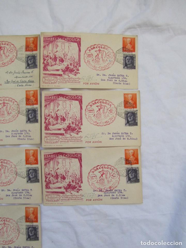Sellos: 1951. Once sobres primer día V Centenario Isabel la Católica - Foto 4 - 79614477
