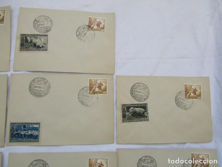 Sellos: 1962. Diecisiete sobres de primer día Feria Internacional del Campo congreso veterinaria Zootecnia - Foto 3 - 79618161