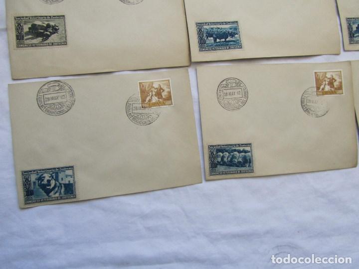Sellos: 1962. Diecisiete sobres de primer día Feria Internacional del Campo congreso veterinaria Zootecnia - Foto 6 - 79618161