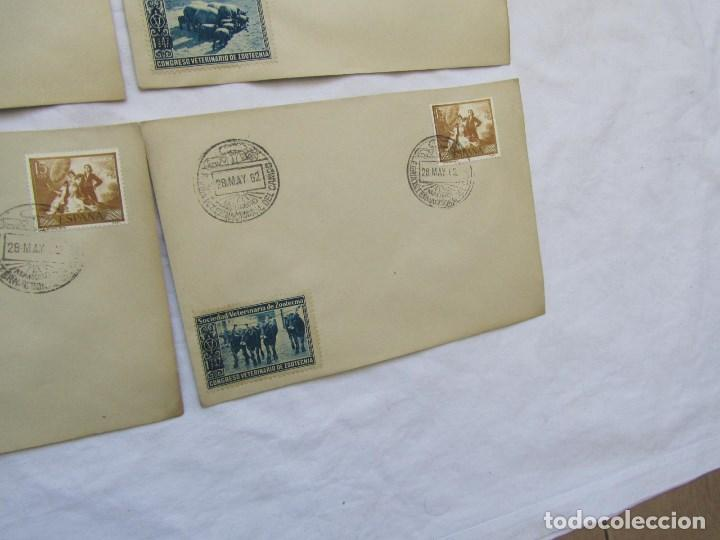 Sellos: 1962. Diecisiete sobres de primer día Feria Internacional del Campo congreso veterinaria Zootecnia - Foto 7 - 79618161