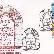 Sellos: HISTORIA DE ESPAÑA CORRESPONDENCIA EPISTOLAR ESCOLAR 2000 (EDIFIL 3746-3749) EN SPD MATASELLOS NOIA.. Lote 80179913