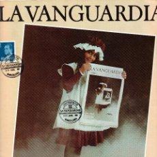Sellos: CENTENARIO LA VANGUARDIA CON MATASELLOS BARCELONA 8-4-1981 GRAPHISPACK 81. Lote 81580644