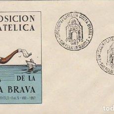 Sellos: AÑO 1957, 1ª EXPOSICION FILATELICA DE LA COSTA BRAVA EN SAN FELIU DE GUIXOLS EDICION OFICIAL SERIE B. Lote 97595754