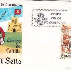 Sellos: SOBRE: 1981 MADRID. DIA DEL SELLO - CORREOS DE CASTILLA. Lote 84873648