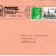 Sellos: 1982 RODILLO 144 OVIEDO CIRCULADO, PREMIOS PRINCIPE DE ASTURIAS, OVIEDO 1982. Lote 87053080