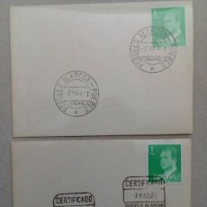 Sellos: POZUELO DE ALARCON, MADRID 1981, COLECCIÓN DE MATASELLOS DE LA CARTERIA DEL PUEBLO. Lote 89604740