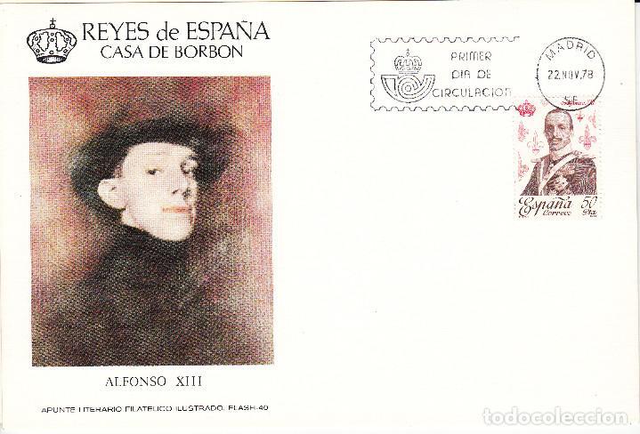 Sellos: 10 TARJETAS: 1978 MADRID. REYES DE ESPAÑA - CASA DE BORBON - ALFIL - TIRADA 1250 EJEMPLARES - Foto 3 - 95610095