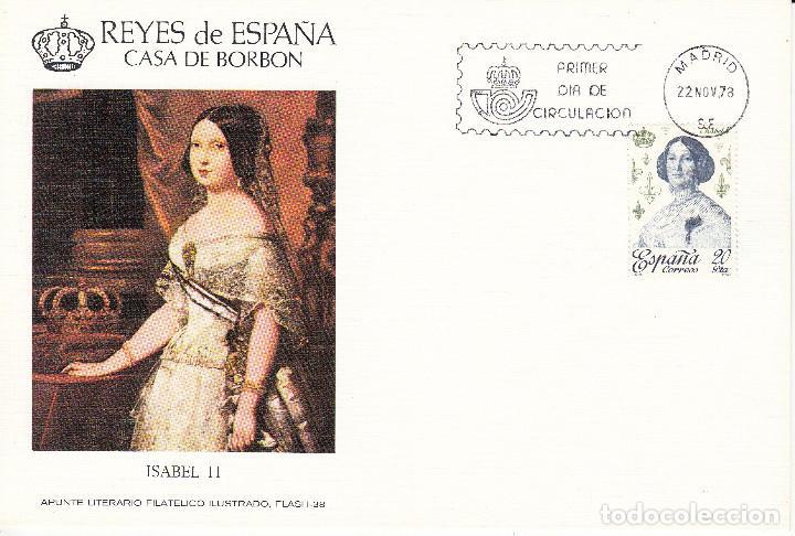 Sellos: 10 TARJETAS: 1978 MADRID. REYES DE ESPAÑA - CASA DE BORBON - ALFIL - TIRADA 1250 EJEMPLARES - Foto 5 - 95610095