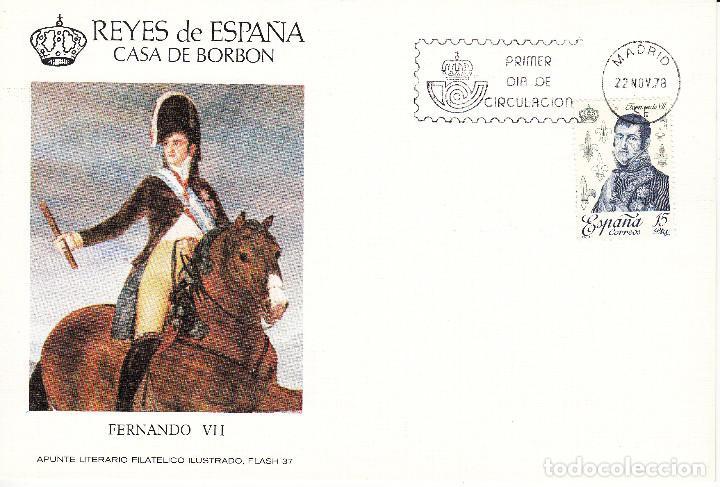 Sellos: 10 TARJETAS: 1978 MADRID. REYES DE ESPAÑA - CASA DE BORBON - ALFIL - TIRADA 1250 EJEMPLARES - Foto 6 - 95610095