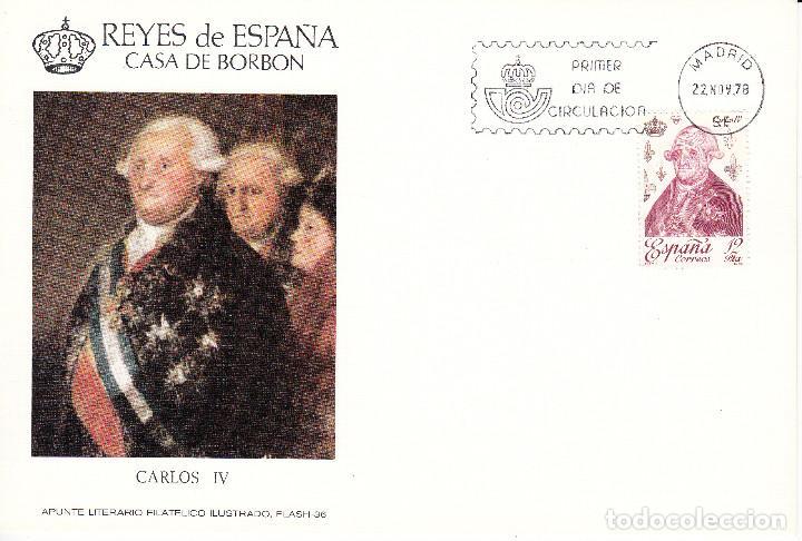 Sellos: 10 TARJETAS: 1978 MADRID. REYES DE ESPAÑA - CASA DE BORBON - ALFIL - TIRADA 1250 EJEMPLARES - Foto 7 - 95610095