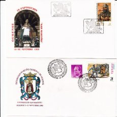 Sellos: MATASELLOS OURENSE - 4 EXPOSIC.FILATÉLICA SAN MARTIÑO 1999-2000-2001-2002. Lote 95637199
