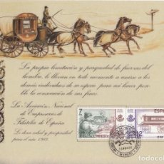 Sellos: CHRISTMAS 1981 MATº 30.NOV.81 MUSEO POSTAL Y DE TELECOMUNICACIONES MADRID, SOBRE PAPEL PERGAMINO. Lote 96229251