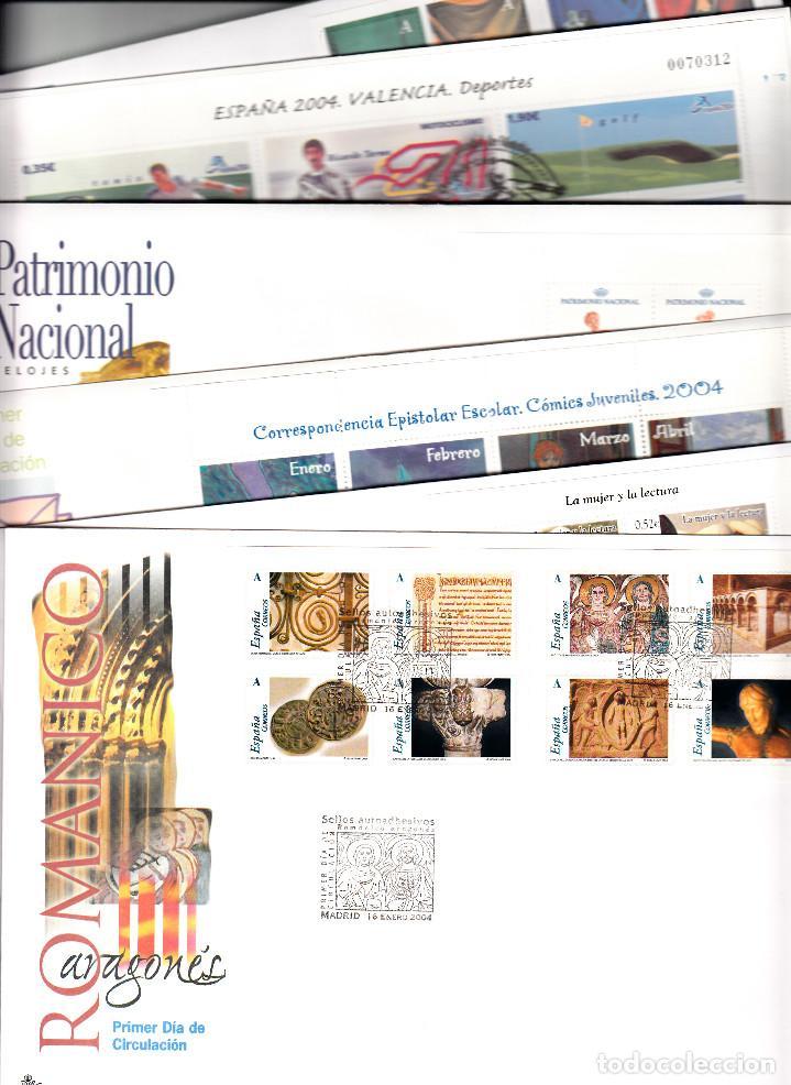 Sellos: SPD- SOBRES PRIMER DIA -AÑO 2004 COMPLETO , 36 SOBRES Y 16 DE GRAN TAMAÑO --OCASIÓN-- - Foto 2 - 96311739