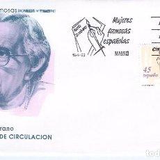 Sellos: EDIFIL 3241. MUJERES FAMOSAS ESPAÑOLAS. MARÍA ZAMBRANO. SOBRE PRIMER DÍA 19-01-1993.. Lote 96972667