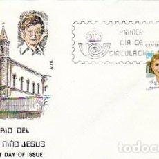 Sellos: EDIFIL 2548, CENTENARIO DEL HOSPITAL DEL NIÑO JESUS, PRIMER DIA 6-11-1979 SOBRE DE ALFIL. Lote 97599979