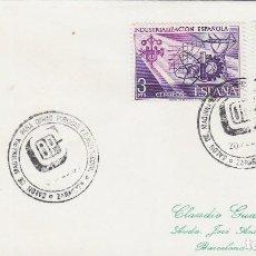 Sellos: AÑO 1980, SALON DE LA MAQUINARIA DE OBRAS PUBLICAS Y LA CONSTRUCCION DE ZARAGOZA. Lote 97603923