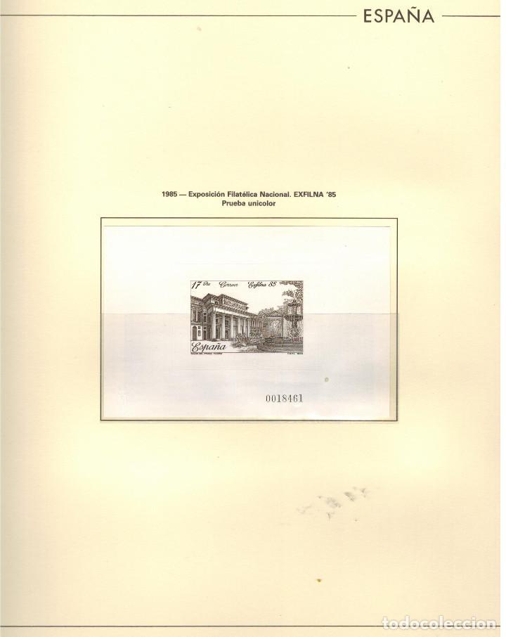 Sellos: ESTUCHE ESPECIAL PAQUETE CON 24 HOJAS EDIFIL DE LA EXFILNA-1985 - Foto 3 - 97829515