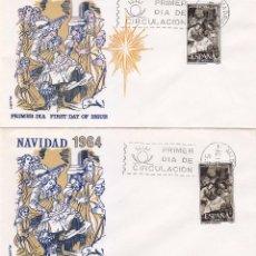 Sellos: RARA VARIEDAD RELIGION NAVIDAD 1964 PINTURA ZURBARAN (EDIFIL 1630) EN RARO SPD DE FLASH. MPM.. Lote 32682084