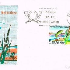 Sellos: EDIFIL 2470, PROTECCION DE LAS AGUAS CONTINENTALES, SOBRE PRIMER DIA DE 4-4-1978 . Lote 98864151