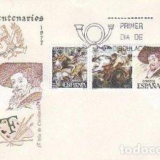 Sellos: EDIFIL 2463/5, RUBENS (V CENTENARIO), SOBRE PRIMER DIA DE 29-3-1978 SFC. Lote 98866571