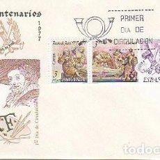 Sellos: EDIFIL 2460/2, 4º CENTENARIO DE JUAN DE JUNI, PRIMER DIA 28-3-1978 SOBRE DEL SFC . Lote 98866679