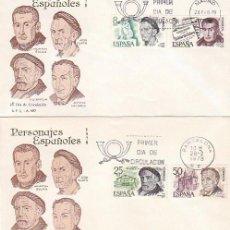 Sellos: EDIFIL 2456/9, CENTENARIO DE MACHADO, BAROJA, CLARA E HILARION ESLAVA, PRIMER DIA 28-2-1978 SFC. Lote 98867579