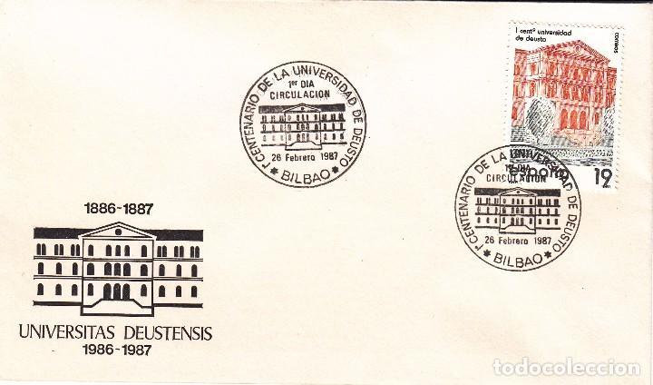 Sellos: 8 POSTALES: 1987 BILBAO. CENTENARIO UNIVERSIDAD DE DEUSTO - Foto 2 - 98884923