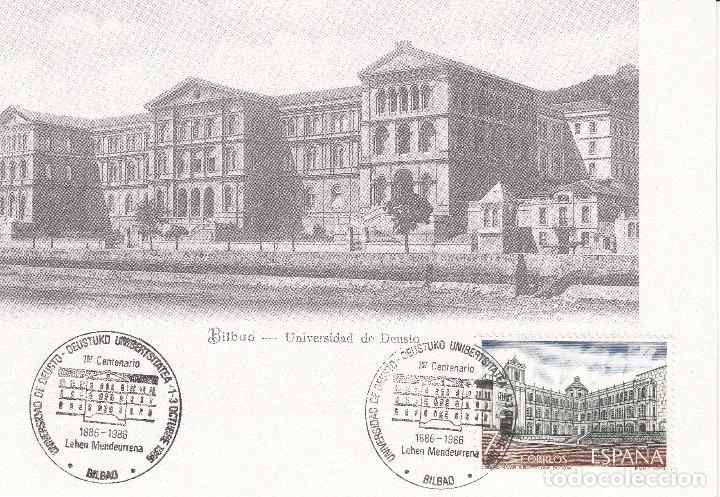 Sellos: 8 POSTALES: 1987 BILBAO. CENTENARIO UNIVERSIDAD DE DEUSTO - Foto 3 - 98884923