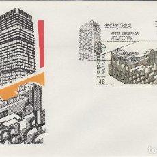 Sellos: ED Nº 2904/5 AÑO 1987- EUROPA ARTES MODERNAS , ARQUITECTURA - SOBRE PRIMER DÍA S.F.C. . Lote 99751511