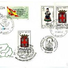 Sellos: CONJUNTO DE OCHO SOBRES CIRCULADOS=ESTATUTO DE ANDALUCIA 28/02/1983-LEER DESCRIPCIÓN Y VER FOTOS .. Lote 99935567