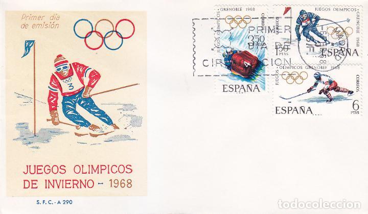 X Juegos Olimpicos De Invierno En Grenoble 1968 Comprar Sobres
