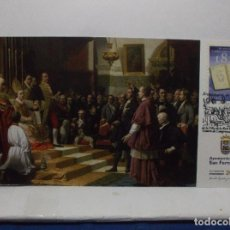 Sellos: LOTE DE DOS POSTALES DEL BICENTENARIO DE LAS CORTES VILLA DE LA REAL ISLA DE LEON.. Lote 101164851