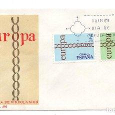 Sellos: SOBRE DE PRIMER DIA DE CIRCULACION - EUROPA 1971. Lote 101549695
