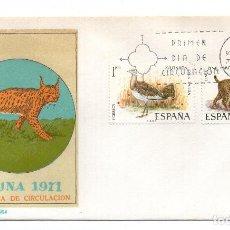 Sellos: SOBRE DE PRIMER DIA DE CIRCULACION - FAUNA 1971. Lote 101549959