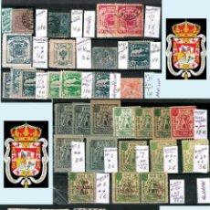 Sellos: GRANADA Y PROV.- H. POSTAL, MATASELLOS, LOCALES Y PATRIOTICOS. P.V. 7.819 €.VER 14 FOTOS.CONDICIONES. Lote 31678711