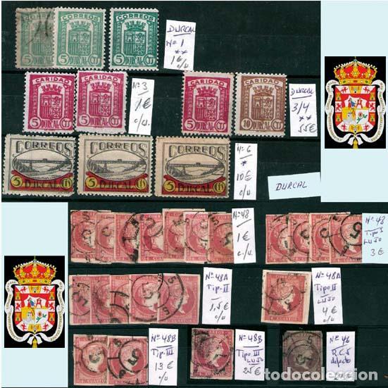 Sellos: GRANADA Y PROV.- H. POSTAL, MATASELLOS, LOCALES Y PATRIOTICOS. P.V. 7.819 €.VER 14 FOTOS.CONDICIONES - Foto 4 - 31678711