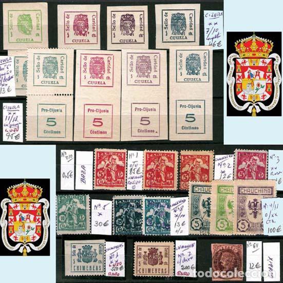 Sellos: GRANADA Y PROV.- H. POSTAL, MATASELLOS, LOCALES Y PATRIOTICOS. P.V. 7.819 €.VER 14 FOTOS.CONDICIONES - Foto 5 - 31678711