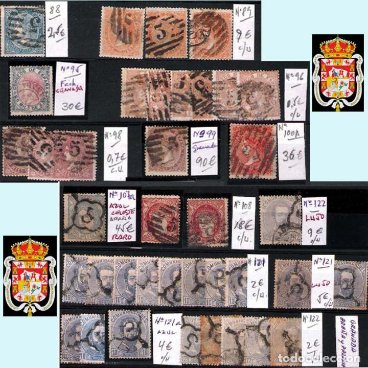 Sellos: GRANADA Y PROV.- H. POSTAL, MATASELLOS, LOCALES Y PATRIOTICOS. P.V. 7.819 €.VER 14 FOTOS.CONDICIONES - Foto 7 - 31678711