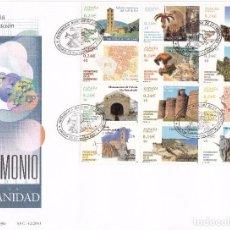 Sellos: SOBRE: 2001 MADRID. PATRIMONIO DE LA HUMANIDAD. Lote 103051583