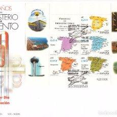 Sellos: SOBRE: 2001 MADRID. 150 AÑOS DEL MINISTERIO DE FOMENTO. Lote 103051783
