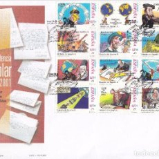 Sellos: SOBRE: 2001 MADRID. CORRESPONDENCIA EPISTOLAR ESCOLAR . Lote 103053107
